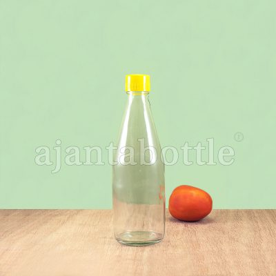 Ketchup in Glass Bottle