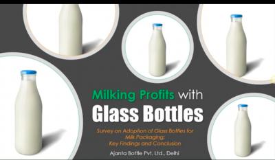 Pack Milk in Glass Bottle