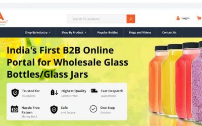 India's First Ecommerce Portal for Glass Bottle & Glass Jar